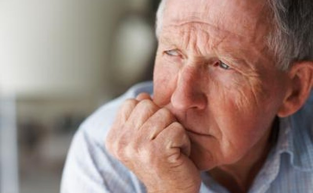Many times elderly people are at higher risk of falling or tripping.
