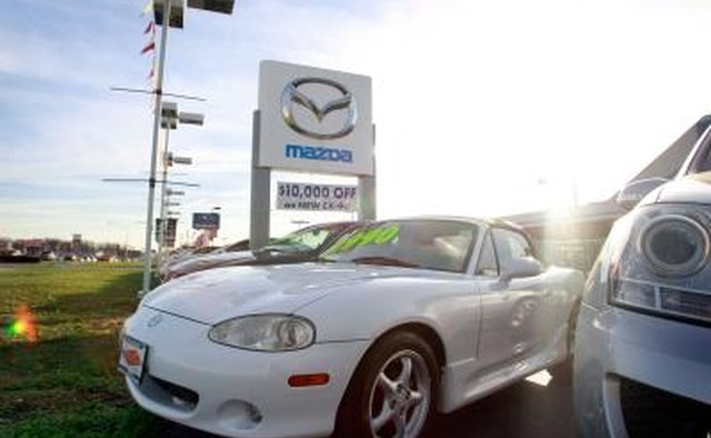 Mazda is a Japanese company that produces popular American models such as the RX, the B-Series pickup truck, the CX and the Miata.