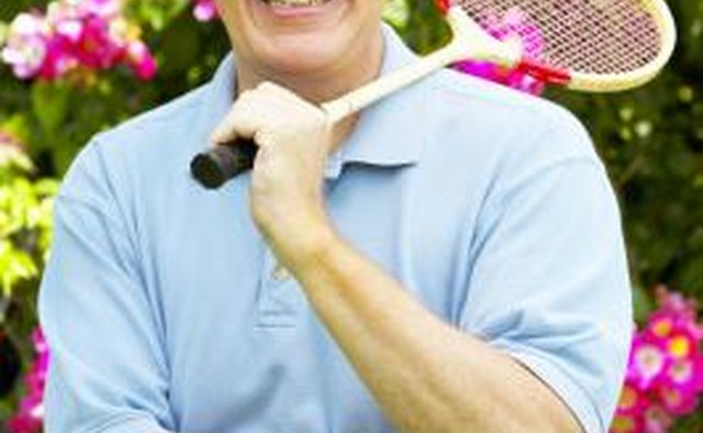 Badminton appeals to all ages and skill levels.