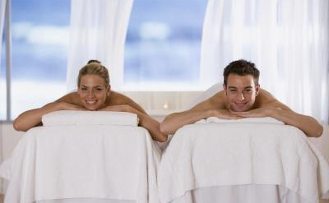 A couples massage is a good choice.