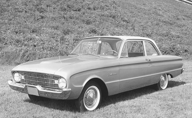The 1960 Falcon was Ford's response to the popularity of Volkswagen.