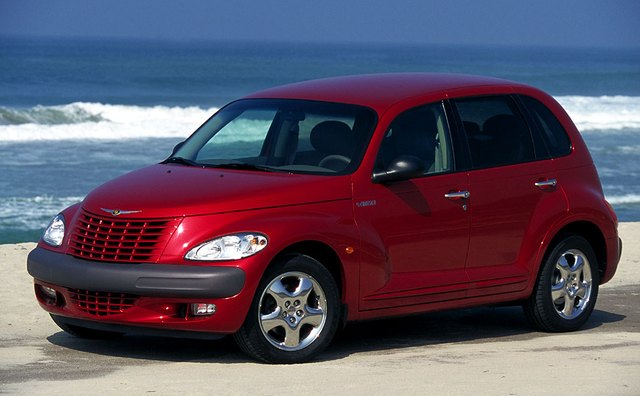 The Chrysler PT Cruiser's interior dimensions qualifies it as a compact.