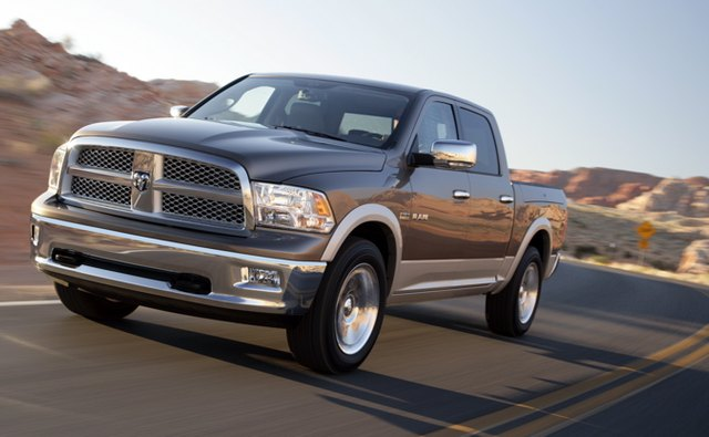 The 2009 Ram's design is freshened up with a forward thrust look.