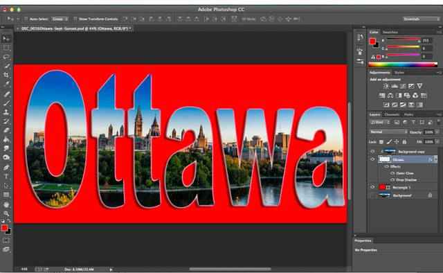 Add additional layers or apply effects to the clipping mask.
