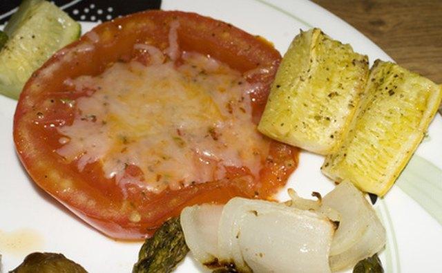 Vegetarian caterers develop menus for various types of vegetarians.