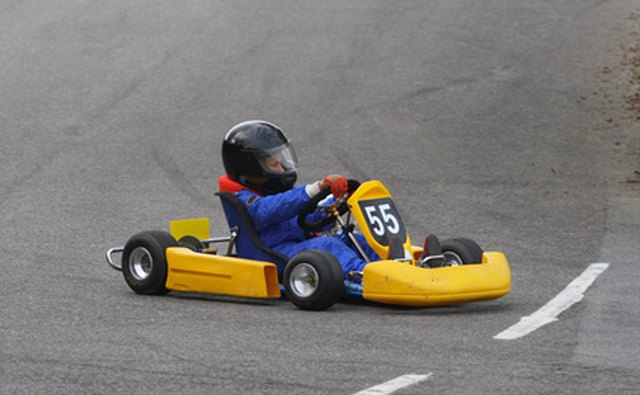 Go-karting is a great game for all ages.