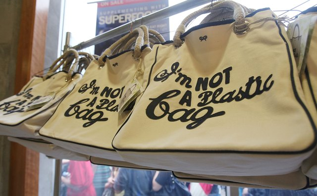 Designer Anya Hindmarch Shopping Bag Introduced At Whole Foods