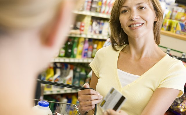 Store loyalty cards collect purchase data at checkout.