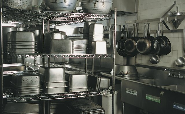 List Of Equipment Needed For A Kitchen Restaurant Bizfluent
