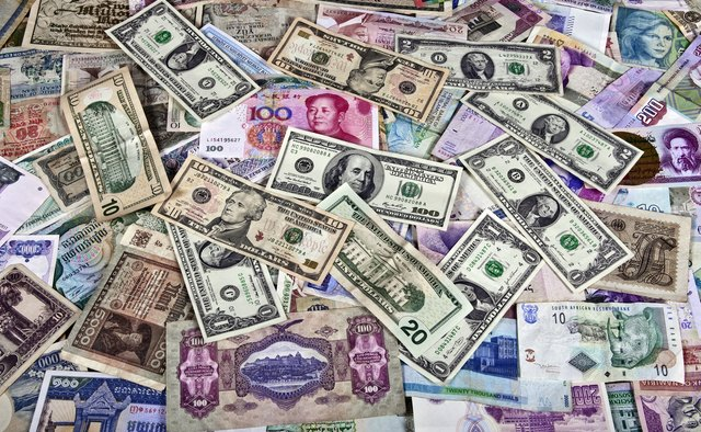 Different contries money