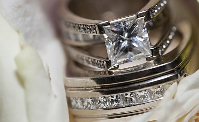 Wedding Rings Closeup