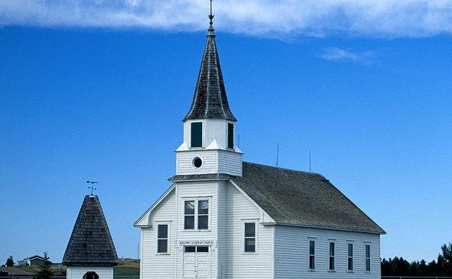 Lutheran Church in Ridgeway, North Dakota