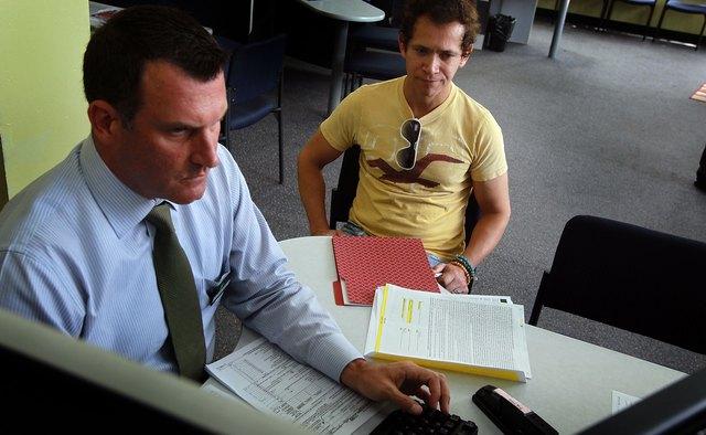 Tax Preparers Work To Meet Tomorrow's Deadline