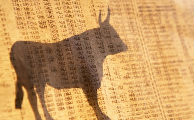 A bullish investor thinks stock prices are going up