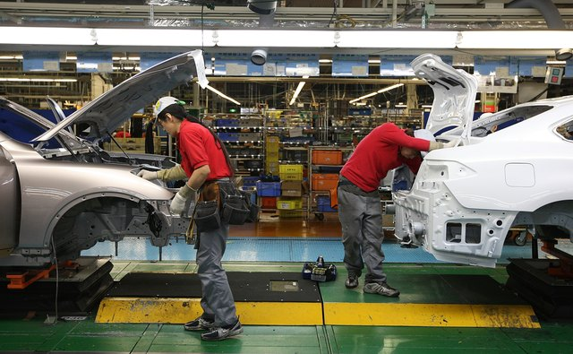 Nissan Opens Tochigi Plant Production Line