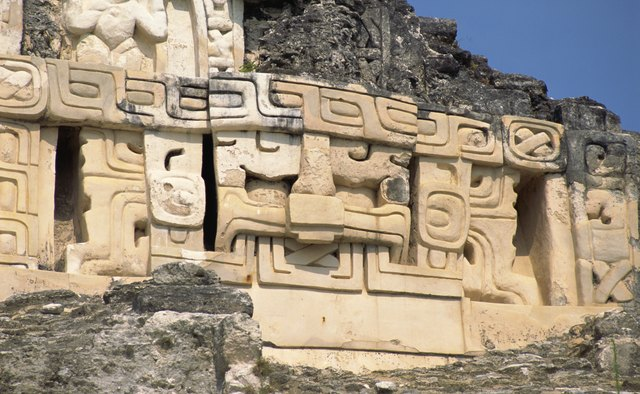 Mayan ruins are part of the beauty of Belize.