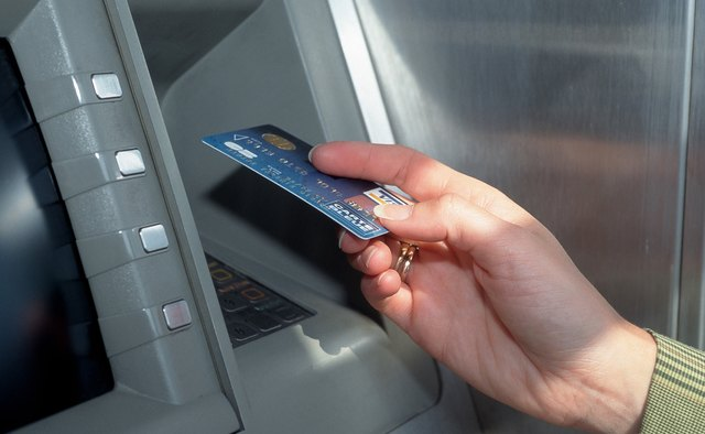 Insert your EBT card into the ATM card slot.