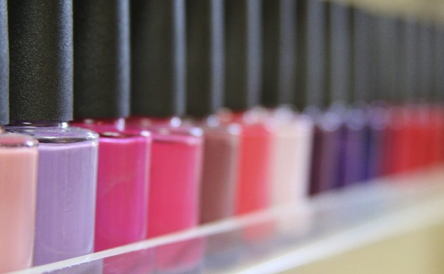 Variety of Nail polish colors