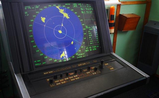 Sonar instrument on ship