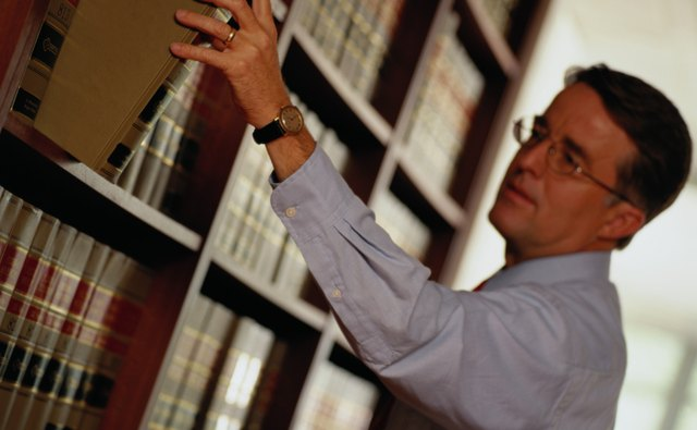 An attorney or a title company can research a property's chain of title.