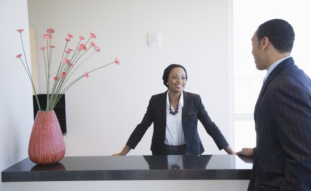 Basic Functions Of A Front Office Manager Bizfluent