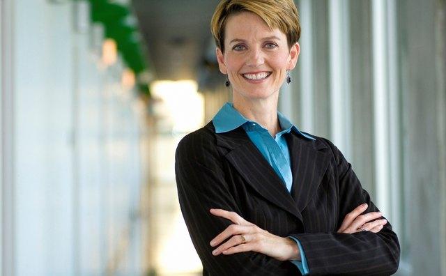 Female management executive.