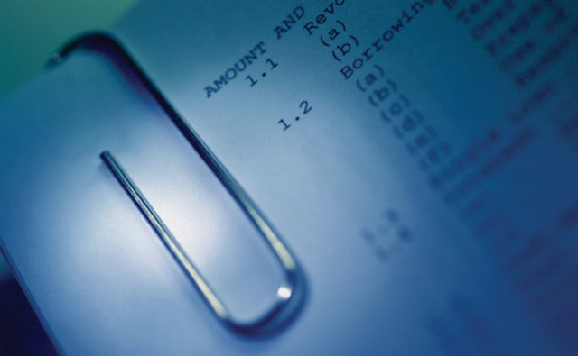 A balance sheet provides information on a company's assets and debts.