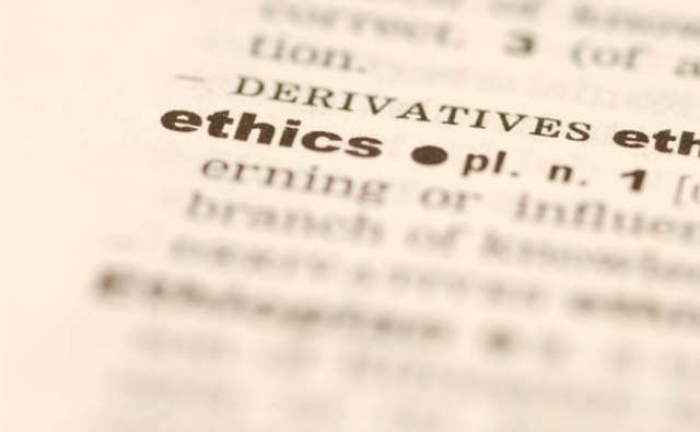 Doing the right thing, with the right intentions, is what being ethical is all about.