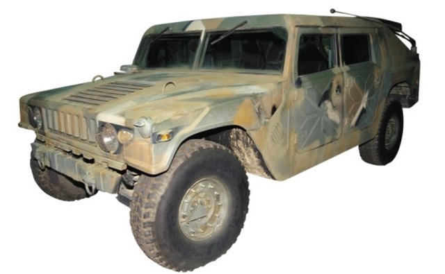 All military vehicles carry a data plate with all registration information, including the National Stock Number.