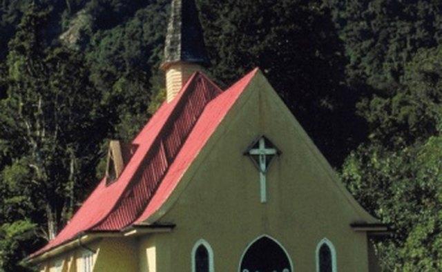 The Frank E. Clark Trust finances small churches in small communities.