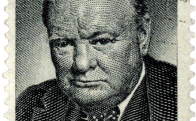 Churchill said,
