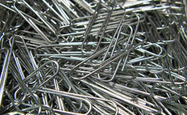 what is a paper clip made out of bizfluent. Black Bedroom Furniture Sets. Home Design Ideas