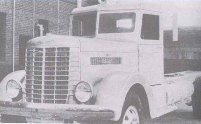 The 1939 Peterbilt truck.