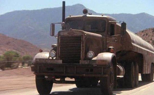 This Peterbilt 281 model was featured in Steven Spielberg's 1971 film