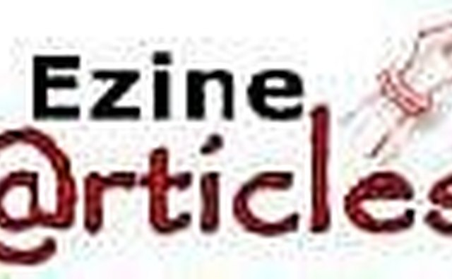 Submit articles to ezine articles.