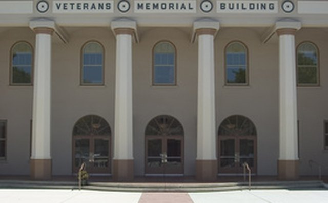 Veterans Memorial Hall is in Washington, D.C.