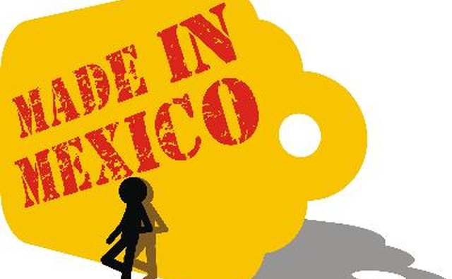 Mexico competes strongly in the textile market.