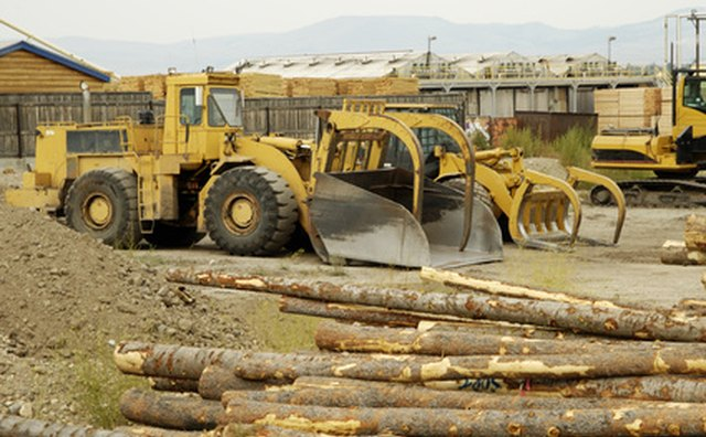 Logging business facilities should accommodate large equipment storage.