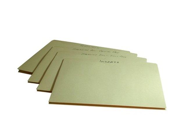 Administrative files