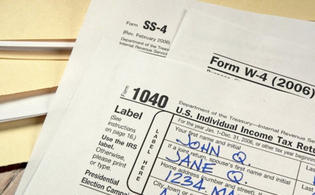 The IRS specifies where each form must be submitted.