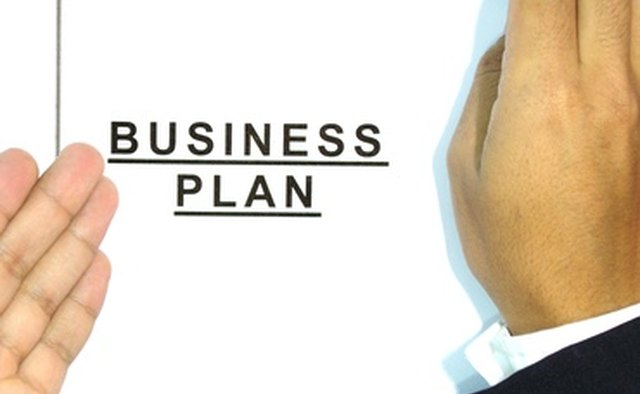 A business plan can help you get organized.