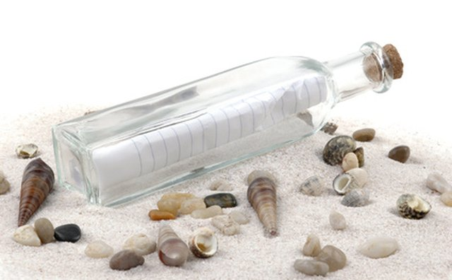 Your brochure is your message in a bottle.