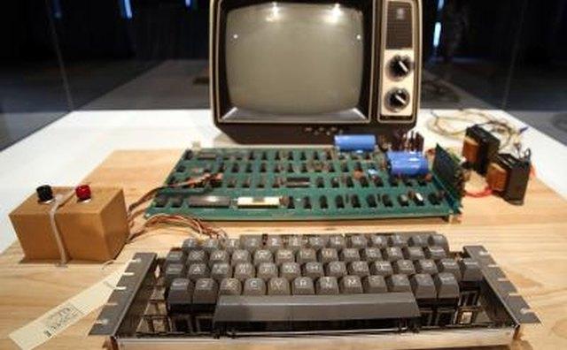 Apple 1 Computer built in 1976