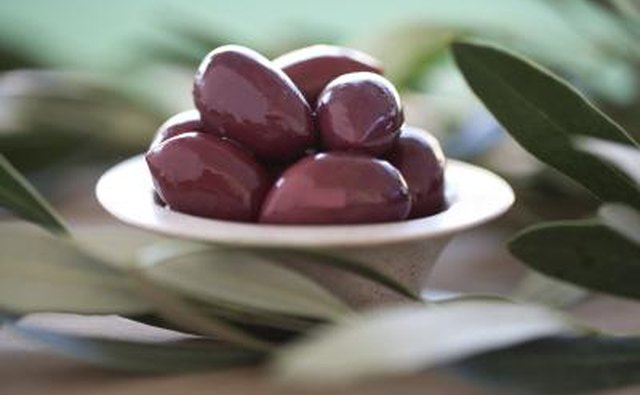 Olives are an important export.