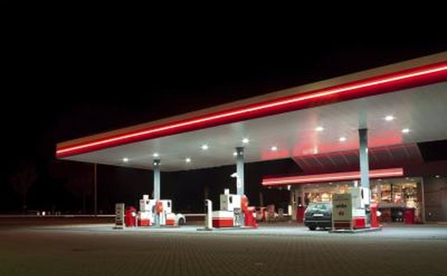If a gas station is branded it will bring in more income.