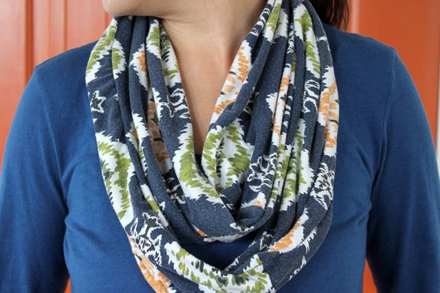 DIY: Upcycled Infinity Scarf