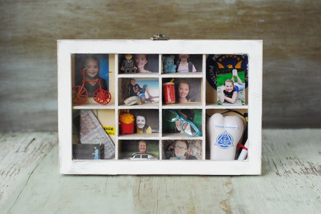 Celebrate Your Grad's Achievements with a Distressed Wood Memory Box