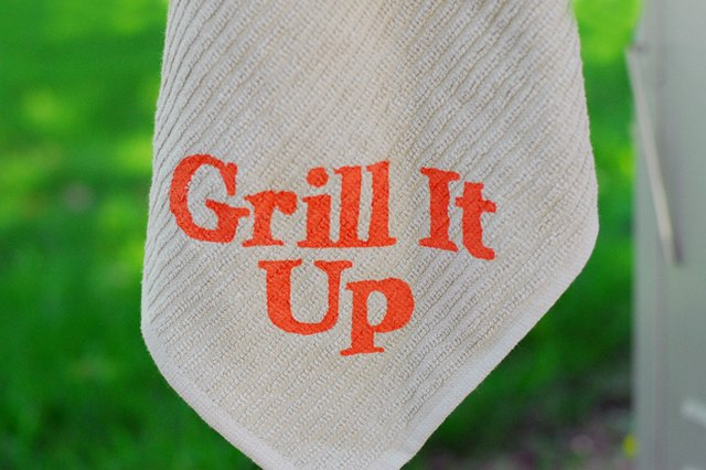 Grill It Up Towel