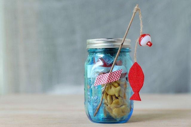 Go Fish: Fill a Mason Jar with Fishing Trip Essentials