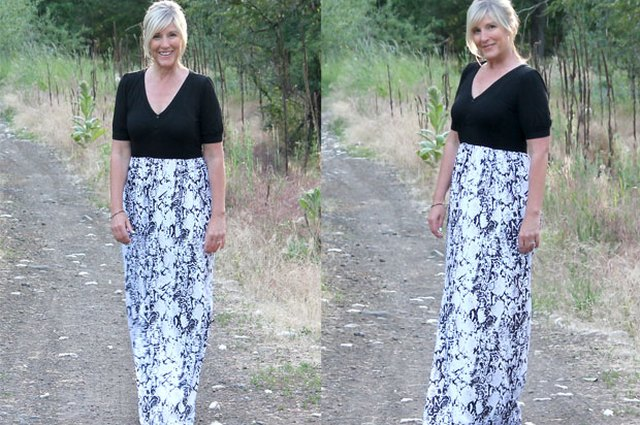 DIY: Easy Summer Maxi Dress in 15 Minutes or Less